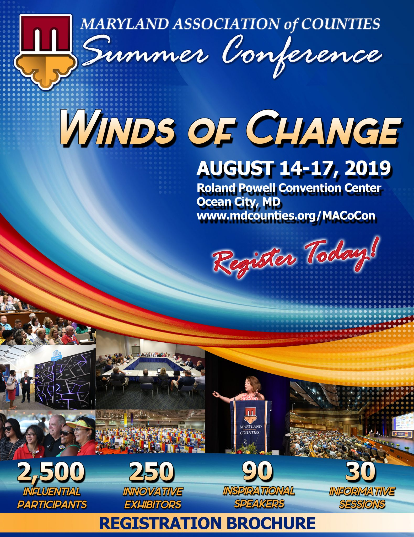 """Summer #MACoCon Registration Now Open – Register Today for """"Winds of Change"""""""