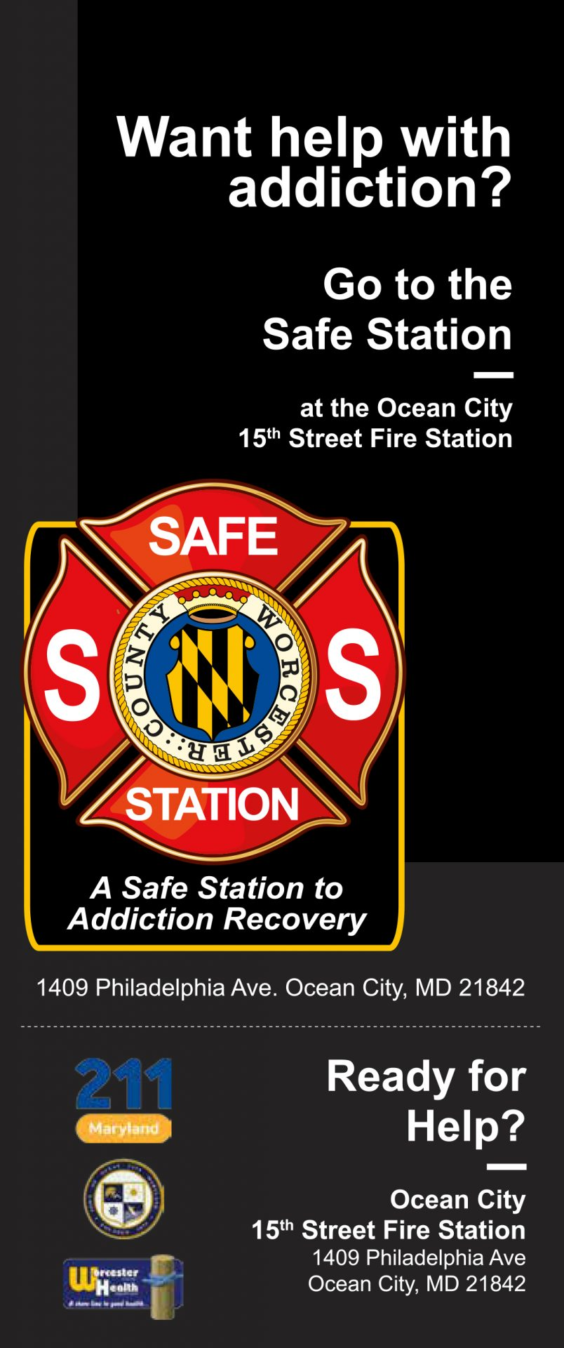 """Worcester Launches """"Safe Station"""" in Ocean City"""