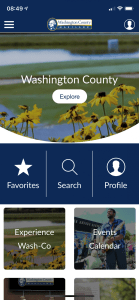 Washington County Launches Mobile App