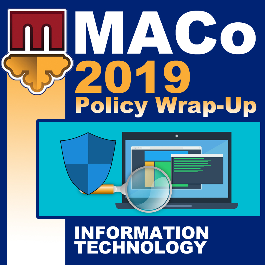 2019 End of Session Wrap-Up: Information Technology