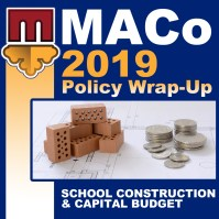 Wrap Up Icon - School Construction and Cap Budget