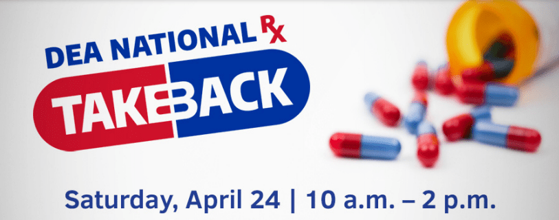Frederick to Take Part in DEA Drug Take Back Day