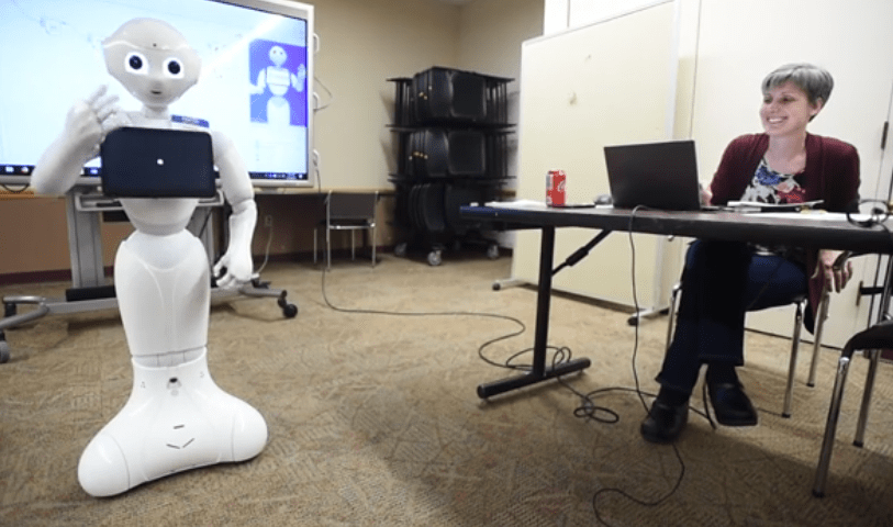 The Robot Who Lives at the Library