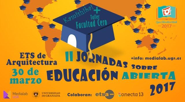 Banner Jornadas Educación Abierta Medialab 2017
