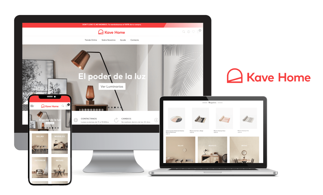 Desarrollo E-Commerce Kave Home