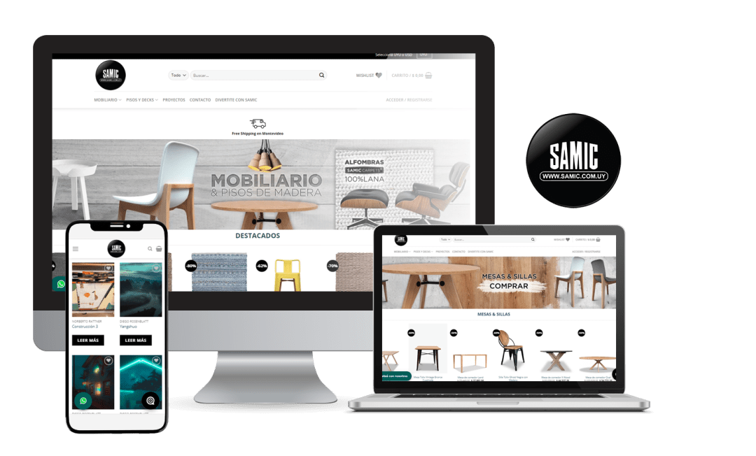 Desarrollo E-Commerce Samic