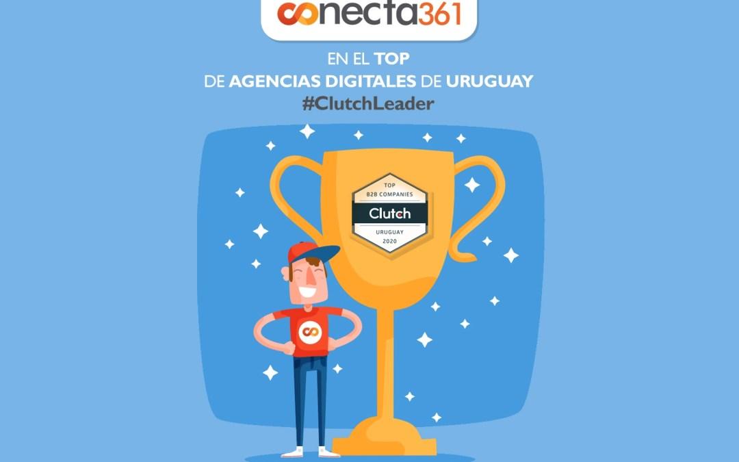 Conecta361, ¡Orgullosos de ser Incluidos en el Top de las Mejores Compañías de Marketing Digital de Uruguay por Clutch!