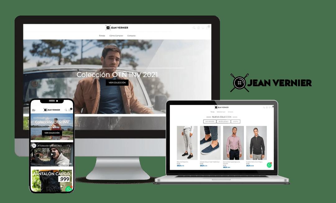 Desarrollo E-Commerce Jean Vernier