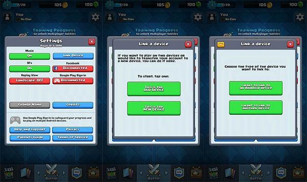 Cómo crear una cuenta compatible con Clash Royale