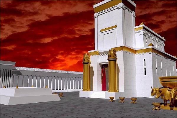 El templo, su descripción, sus dimensiones, etimología de la palabra logia.