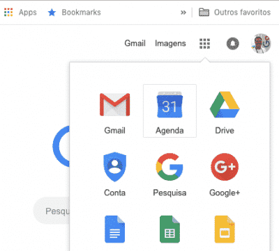 encontrar agenda google