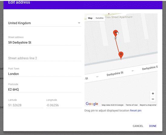 mapa-locais-Admin-Console