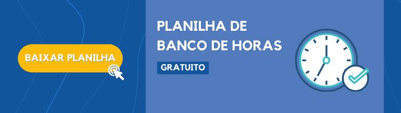 Banner - Planilha de Horas