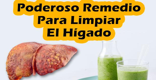 Poderoso Remedio Natural para Limpiar el Hígado y ...