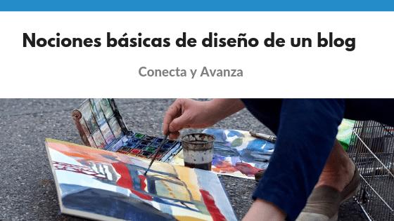 diseño de un blog - Conecta y Avanza
