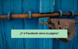 facebook cierra tu pagina - conecta y avanza