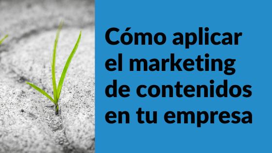 marketing de contenidos - conecta y avanza