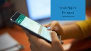 WhatsApp en Instagram: cómo añadir el botón