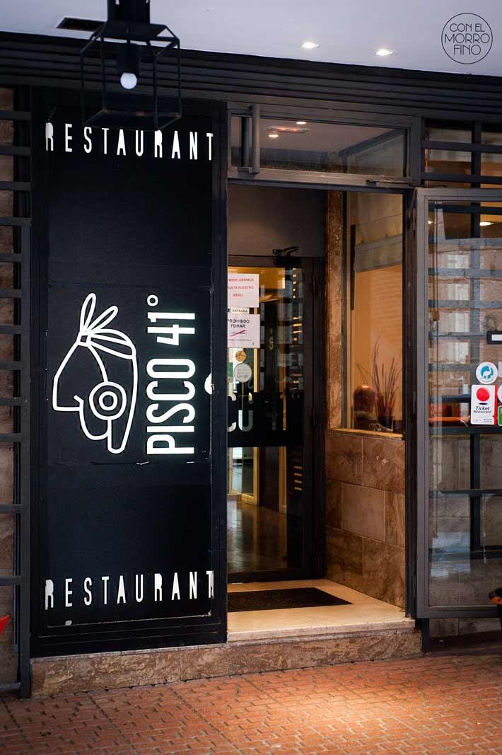 Pisco 41 Restaurante Peruano  Con El Morro Fino