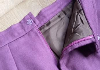 falda granate 7