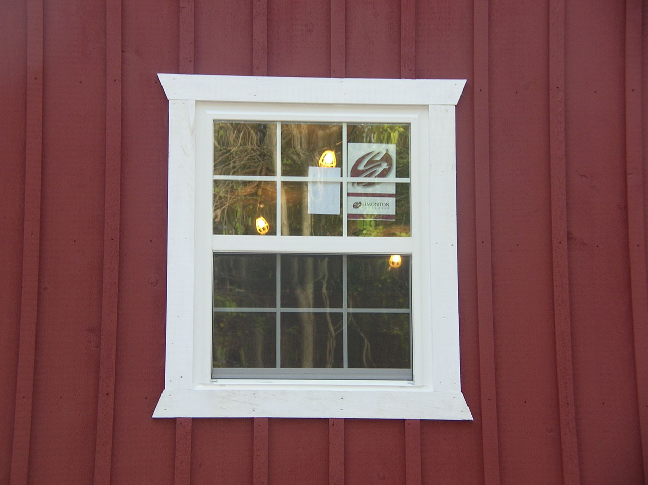 Post Frame & Pole Barn Window Options Conestoga Buildings