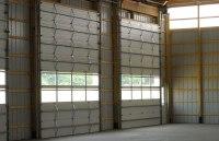 Post Frame Building Door Options