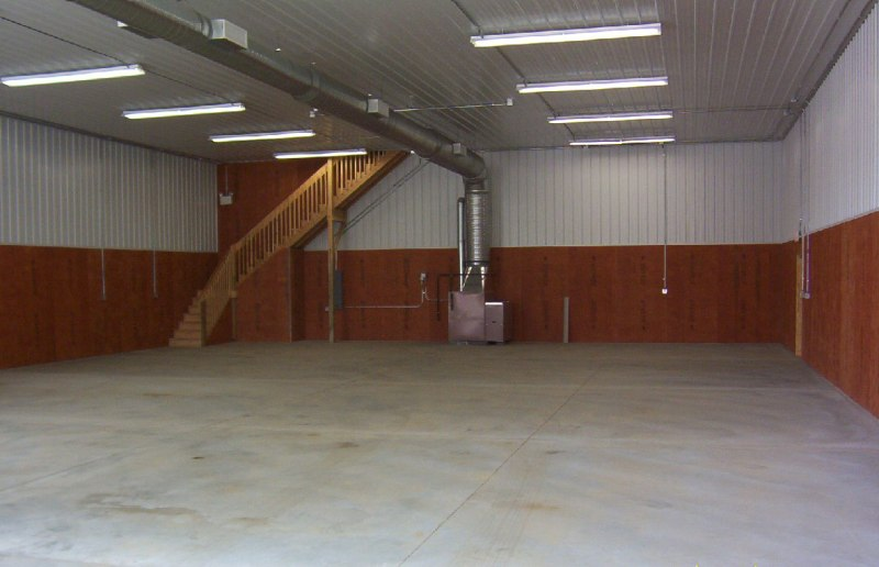 Pole Building With Block Wall : Pole barn interior billingsblessingbags