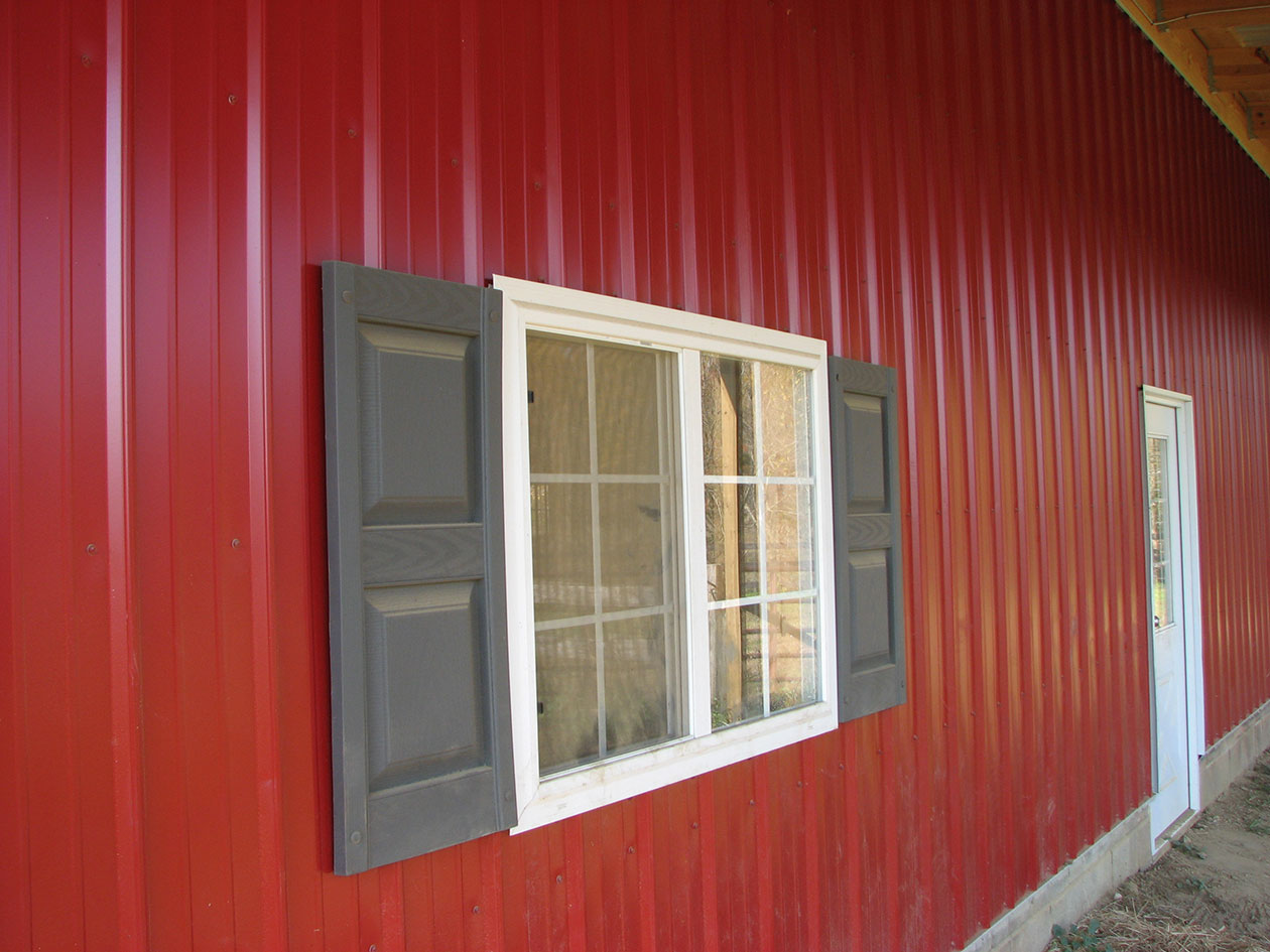 Post Frame & Pole Barn Window Options Conestoga Buildings