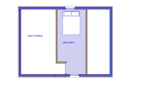 Brandywine log loft blueprint