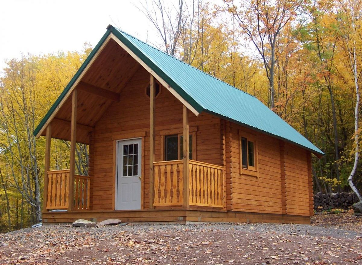 A frame cabin kit outdoorsman log cabin conestoga log for Log a frame cabins