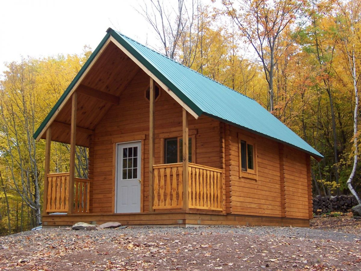 Captivating Outdoorsman Log Cabin Kit
