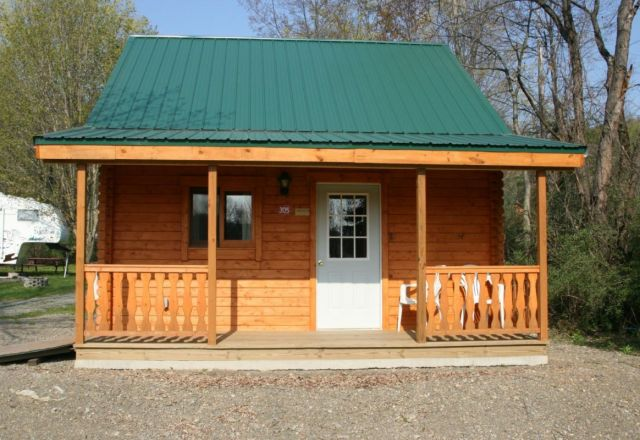 Log cabins structures kits small affordable for Two story log cabin kits