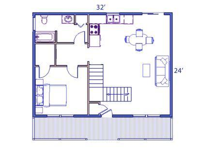 cabin floorplan