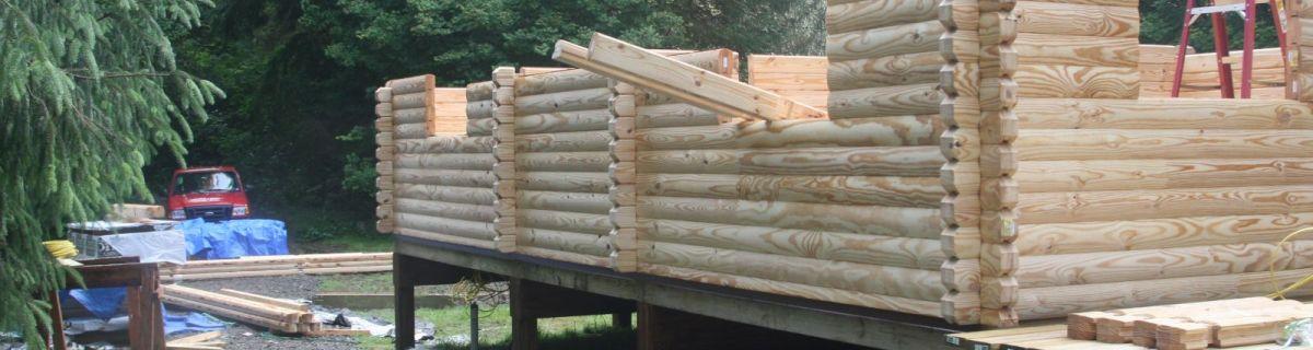 log cabin kit assembly