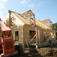 construction loan - cabins Construction