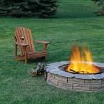 cabin fire pit