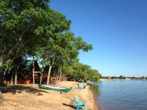 log cabin vacation spots - Willow Point