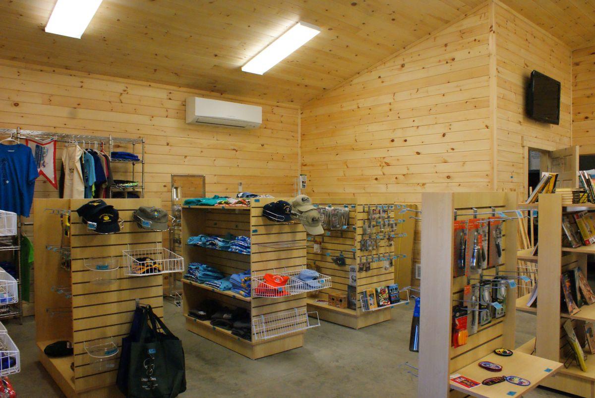 Lincoln commercial log cabin kit store