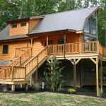 log cabin sustainability - Metal Roof