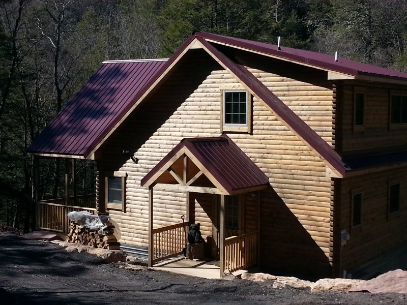 log cabin kit - brandywine