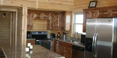 log home kits - aspen chalet
