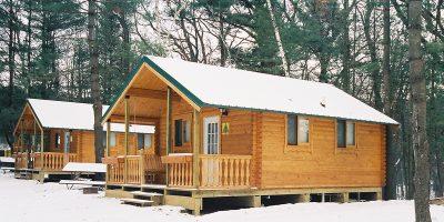 bunkhouse log cabin kits - cub lodge