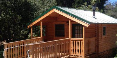 ada camping cabin