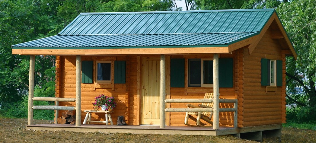 Camping Cabin Kits for Campgrounds & Resorts | Conestoga Log Cabins