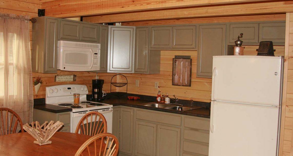 camping log cabin kits
