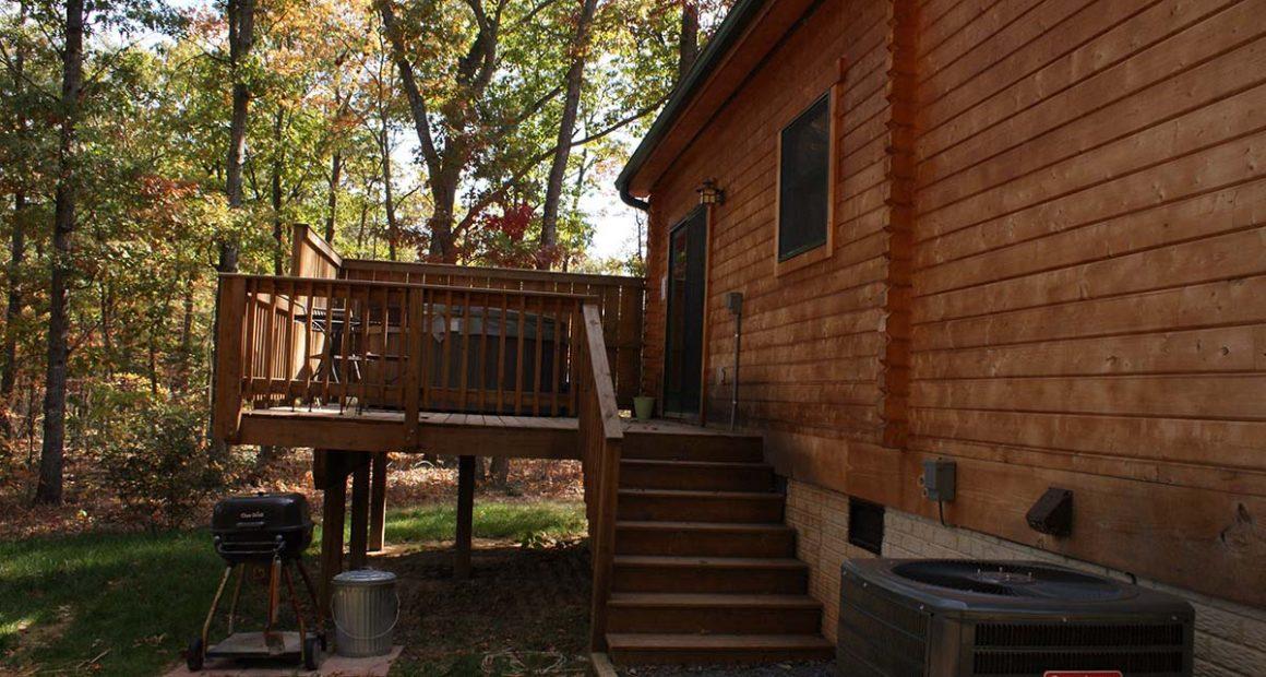 log home kits - silver creek