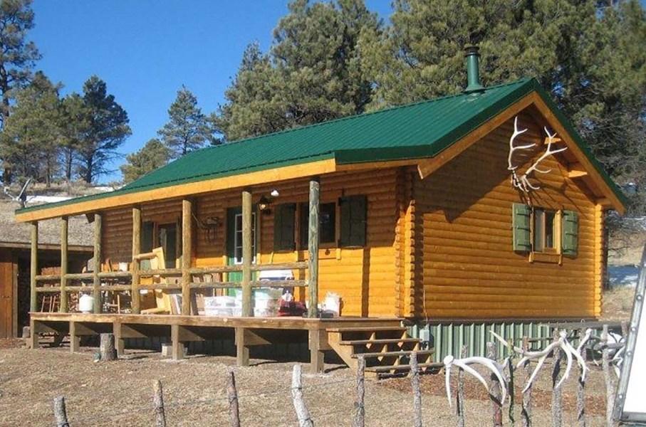log cabin kits - trout run
