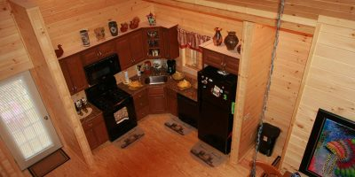 log home kits - rainier