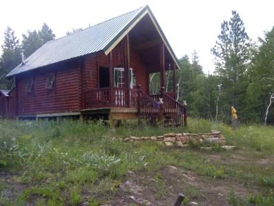 log cabin maintenance