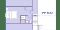 log home kits floor plan - mountain haven